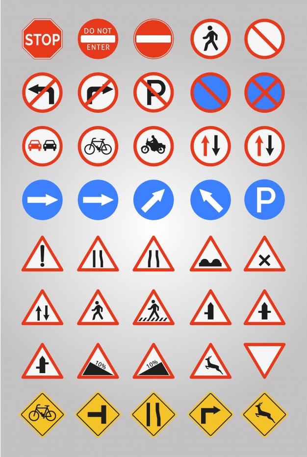 Реферат на тему знаки дорожного движения 2408