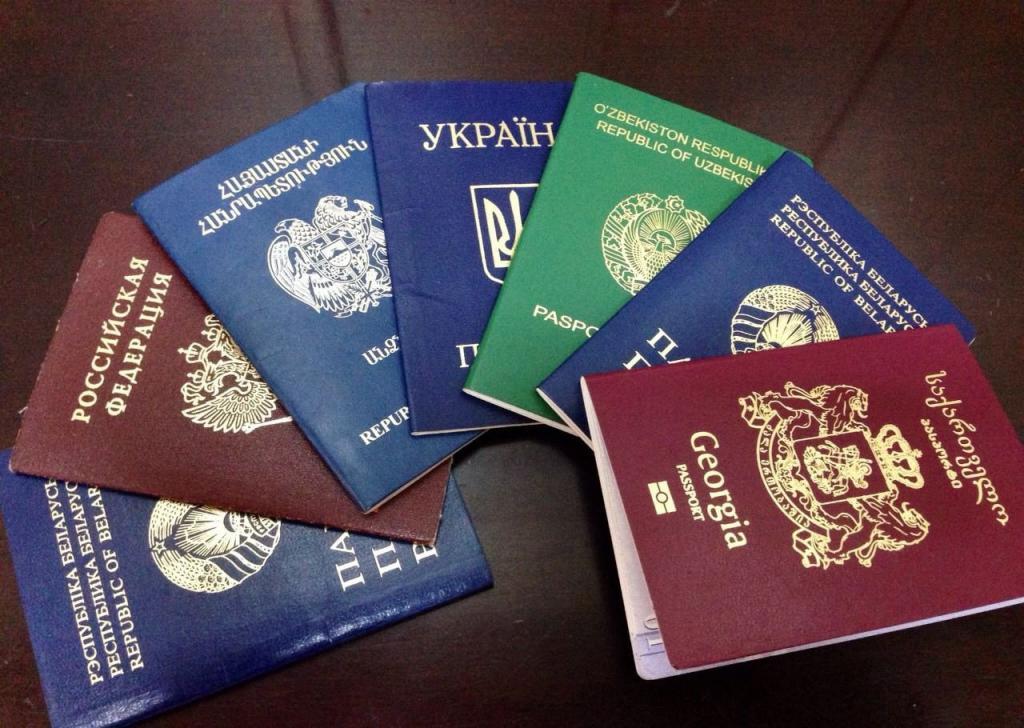 Иностранный паспорт картинка