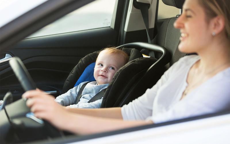 штраф за ребенка на переднем сиденье
