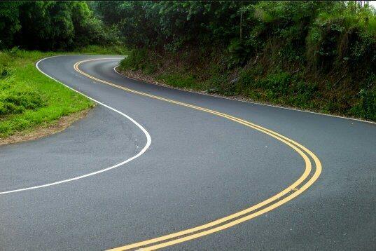 дорога двойная сплошная