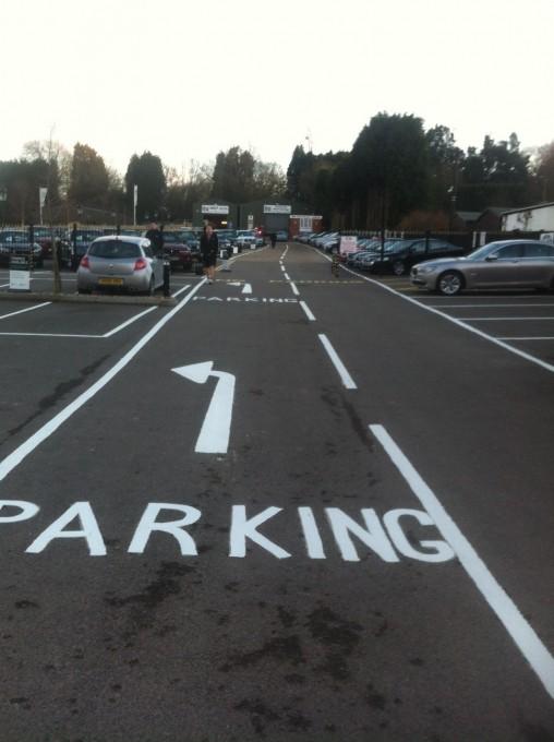 стандарт разметки парковки